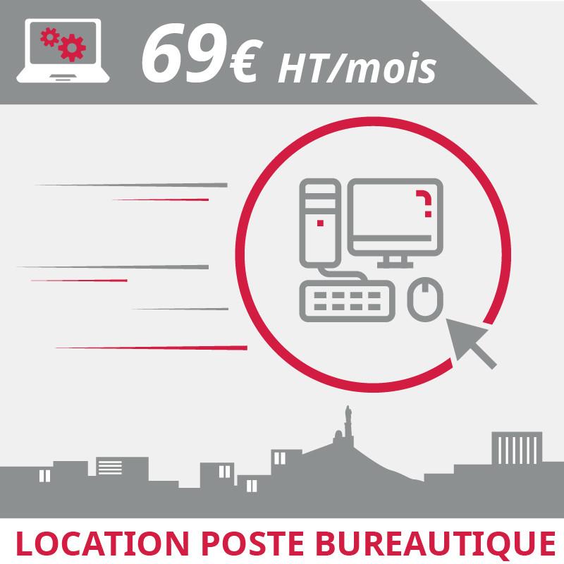 Location poste informatique bureautique