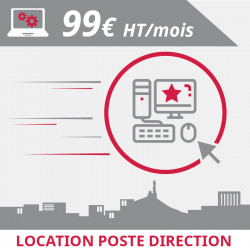 Location poste direction