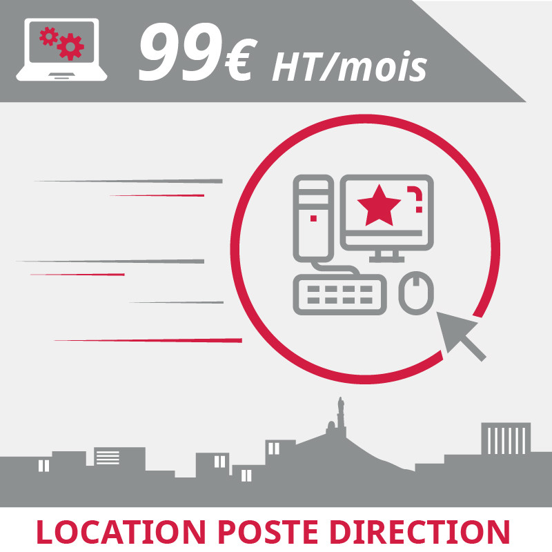 Location poste direction