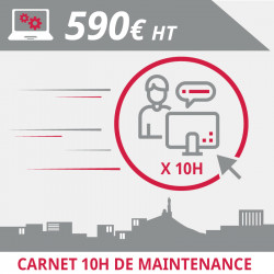 Carnet 10H Maintenance Informatique