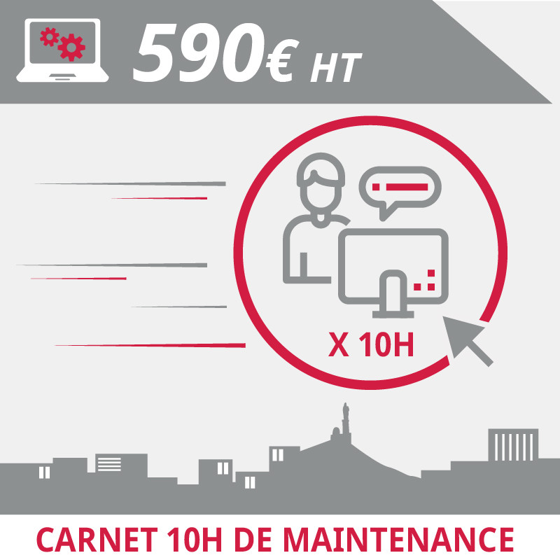 Carnet 10H Maintenance Informatique