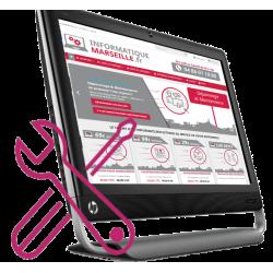 Remplacement de votre écran tactile HP touchsmart 520