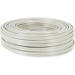 Câble FTP monobrin Cat 6 Gris - 100 m - LSOH